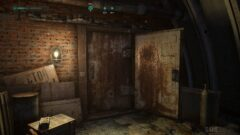 a dirty old room