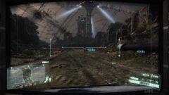 a screenshot of a video game on a city street