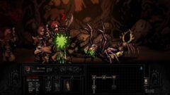 a screenshot of a video game in a dark room