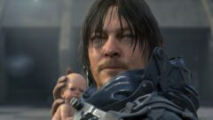 a close up of Norman Reedus wearing a costume