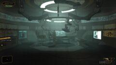 a screenshot of a video game in a room