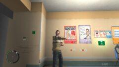 Niko Bellic standing in a room