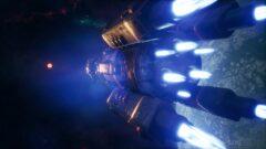 a close up of a light