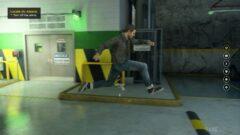 a man doing a trick on a skateboard