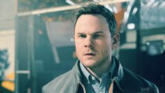 Shawn Ashmore wearing glasses and looking at the camera