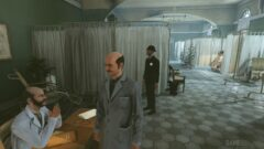 a man standing in a room
