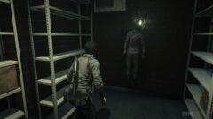 a man standing in front of a door