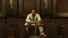 a man sitting at a table