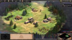 a screenshot of a video game in a park