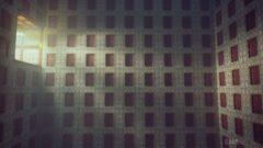 a close up of a brick building