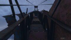 a close up of a bridge