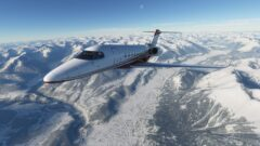 a airplane that is covered in snow